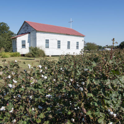 Little Church in the Cotton Field at Frogmore Plantation