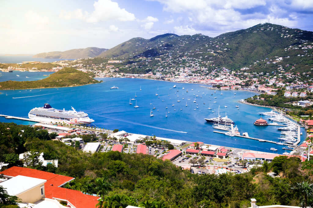 St. Thomas in the Virgin Islands.