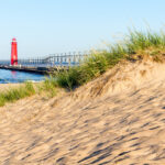 Grand Haven Michigan Lighthouse and Pier