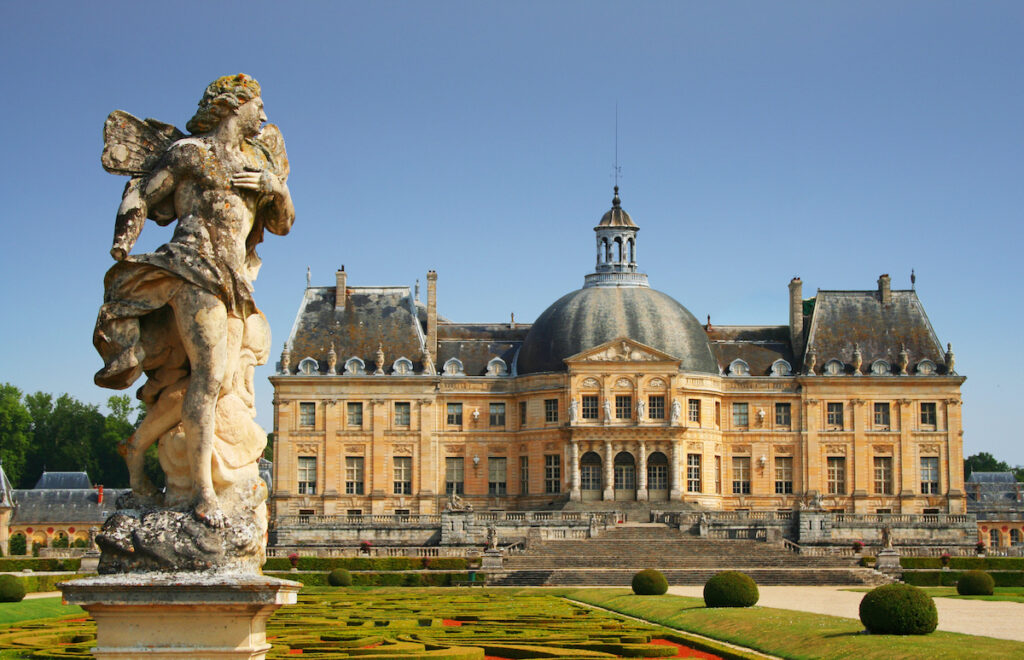 Château de Vaux le Vicomte près de Paris.