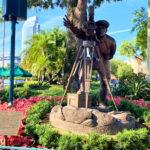 Walt Disney statue at Hollywood Studios