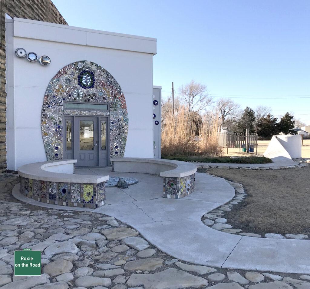 Bowl Plaza in Lucas, Kansas.