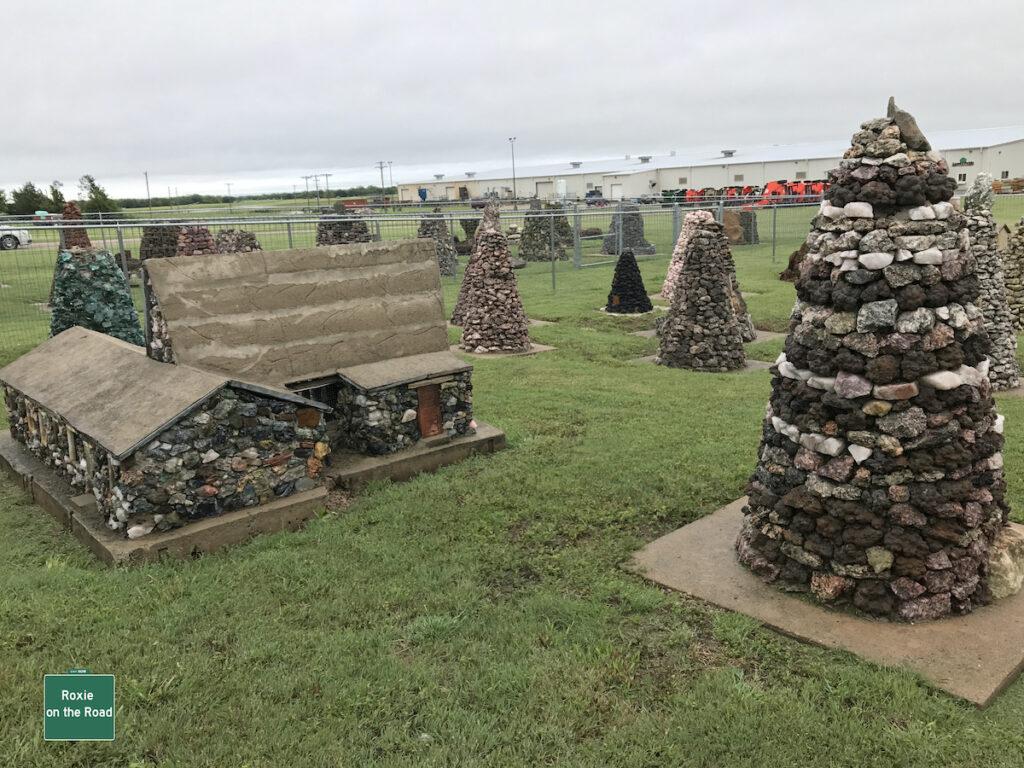 Miller's Park in Lucas, Kansas.