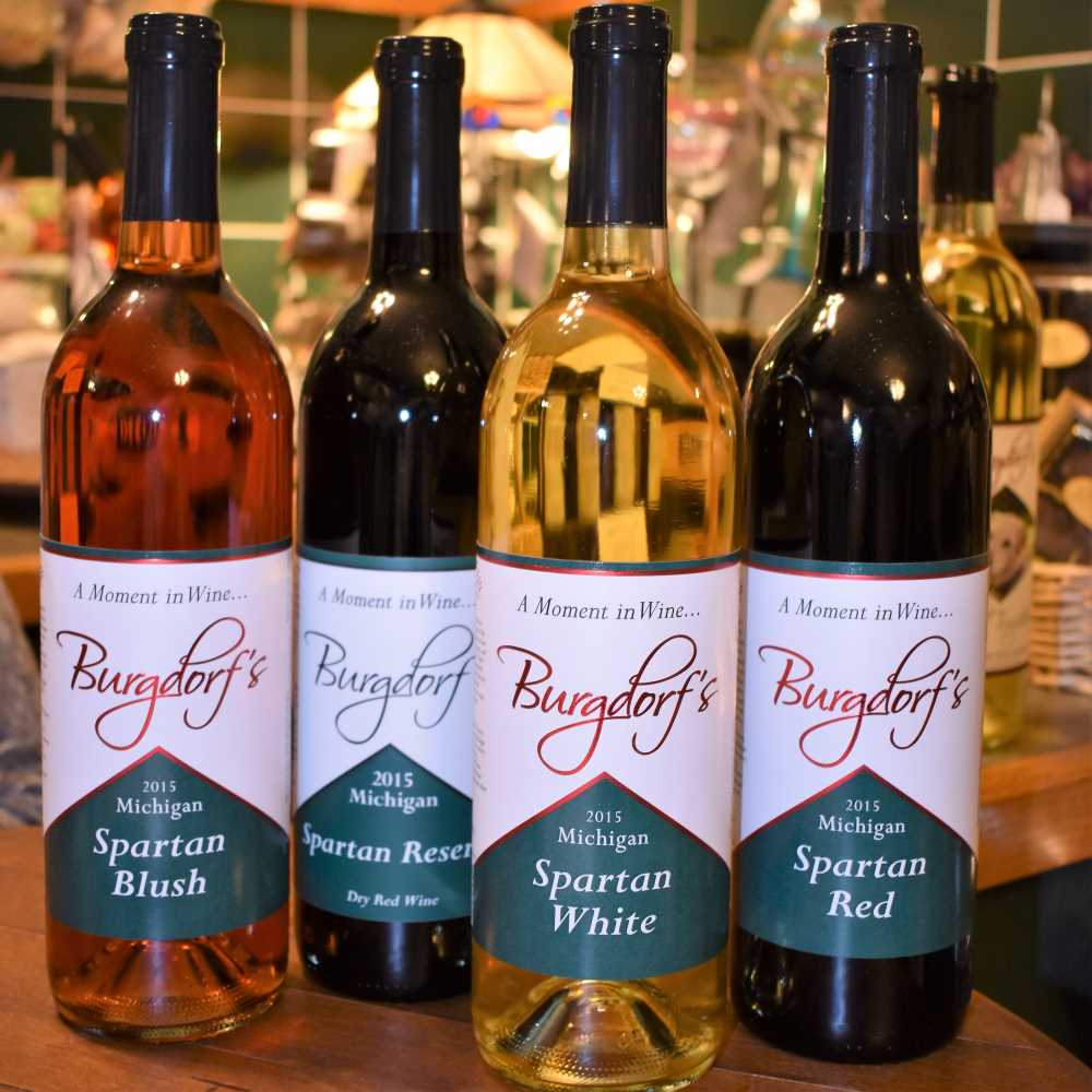 Burgdorf Winery's Spartan wines