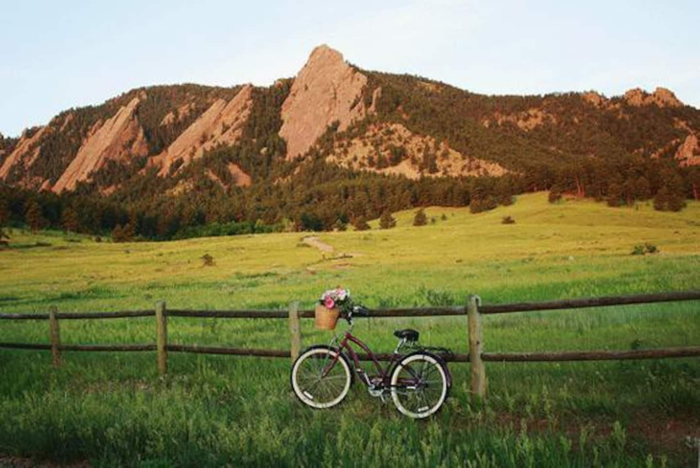 Bed and bike shed in Boulder
