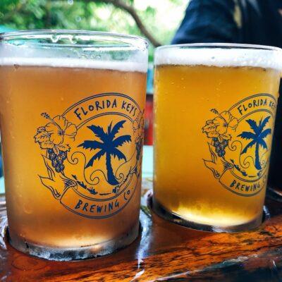 Tasting at Florida Keys Brewery