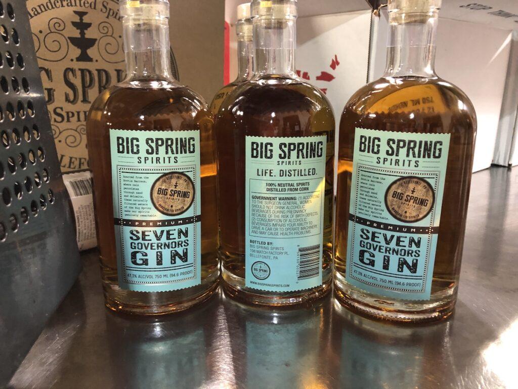 Big Spring Spirits Distillery, Bellefonte, Pennsylvania.