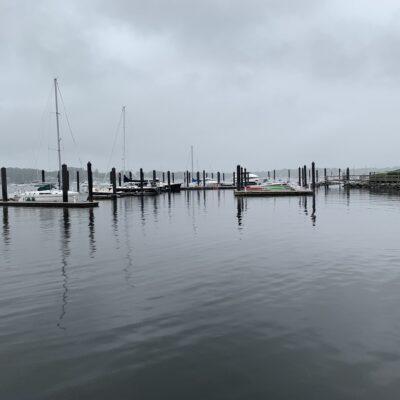 Bristol, Rhode Island, waterfront.