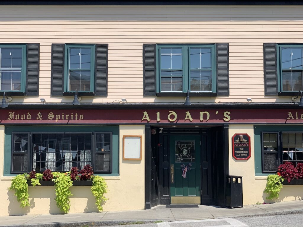 Aidan's Pub, Bristol, Rhode Island.
