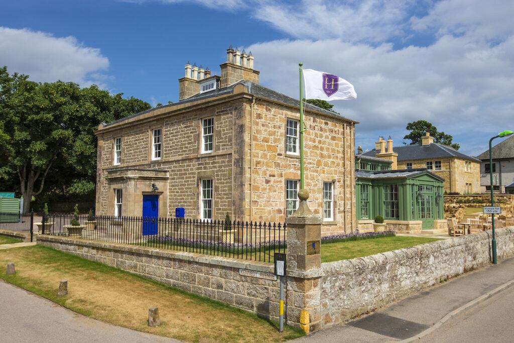 The Links House, Dornoch, Scotland.