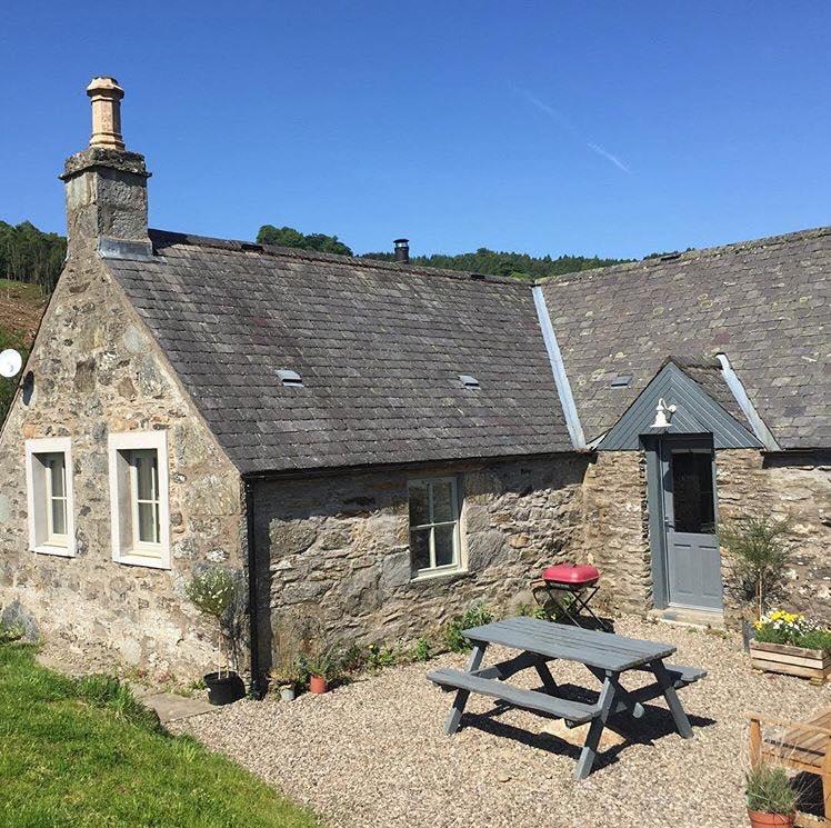 Pheasant Cottage in Dunkeld, Scotland.
