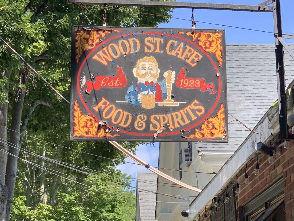 Wood Street Cafe, Bristol, Rhode Island.