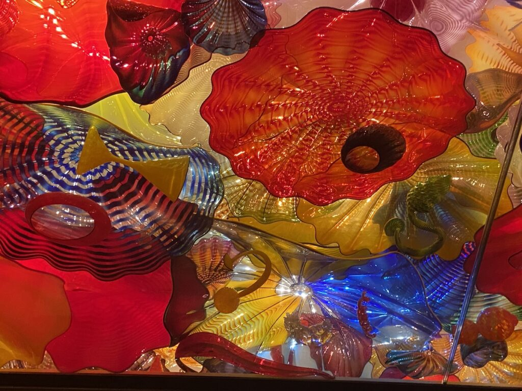 Persian Ceiling by artist Dale Chihuly
