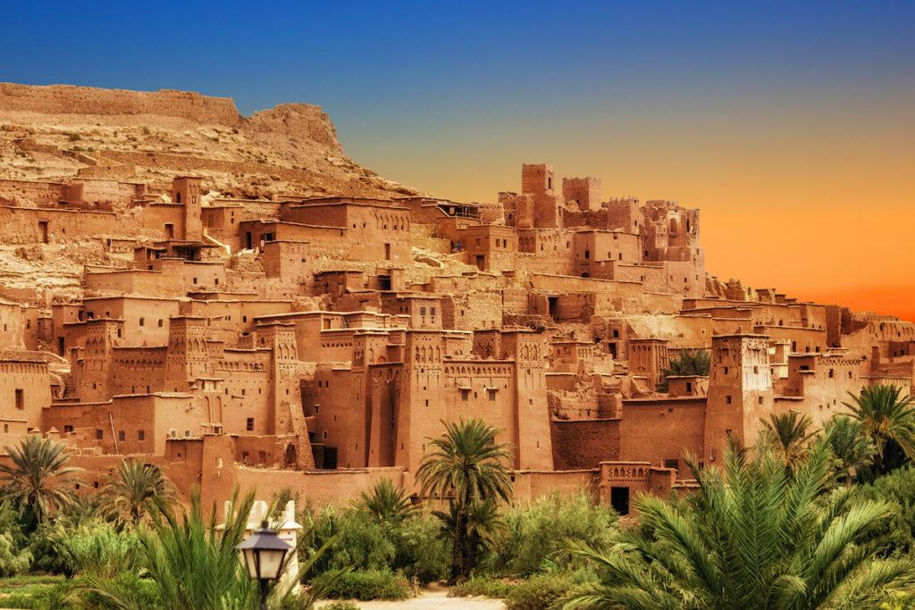Ait Benhaddou Kasbah; Morocco