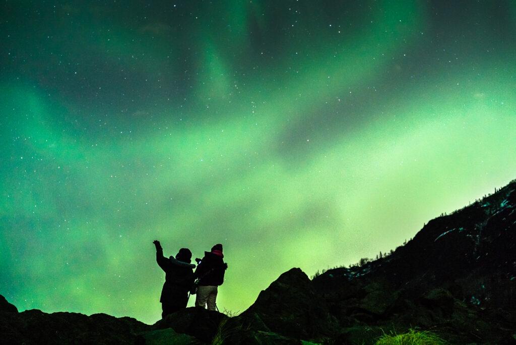 Northern Lights viewing at Anchorage Aurora Quest in Alaska