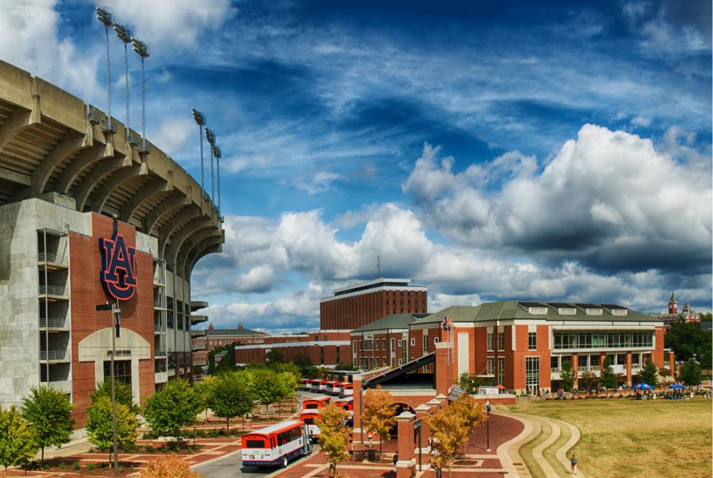 Auburn University football stadium