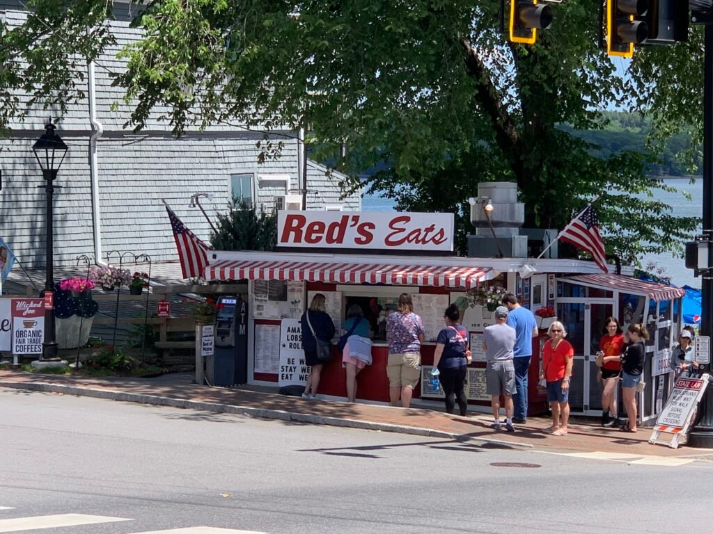 Red's Eats Wiscasset, Maine