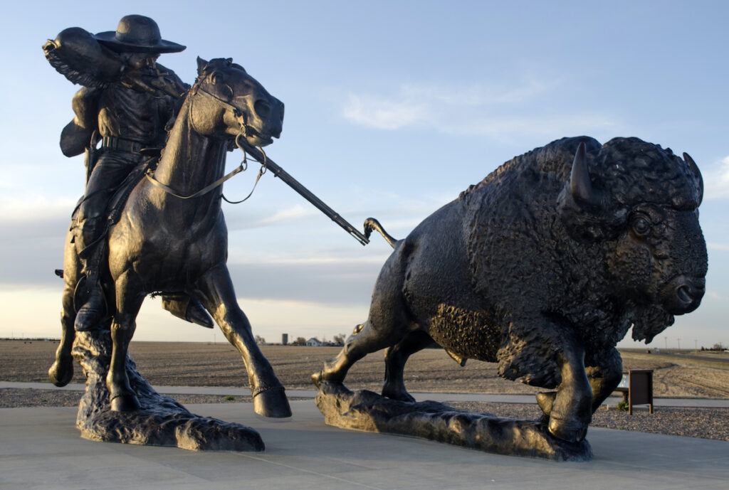 """""""Birthplace of the Legend"""" at Buffalo Bill Cultural Center."""