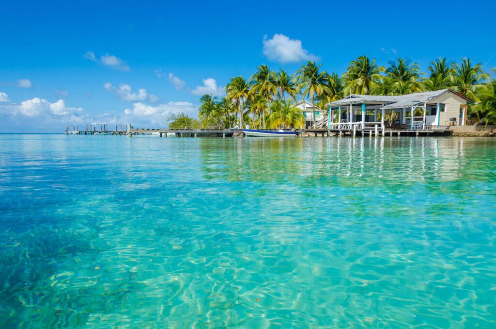 Beautiful weather in Belize