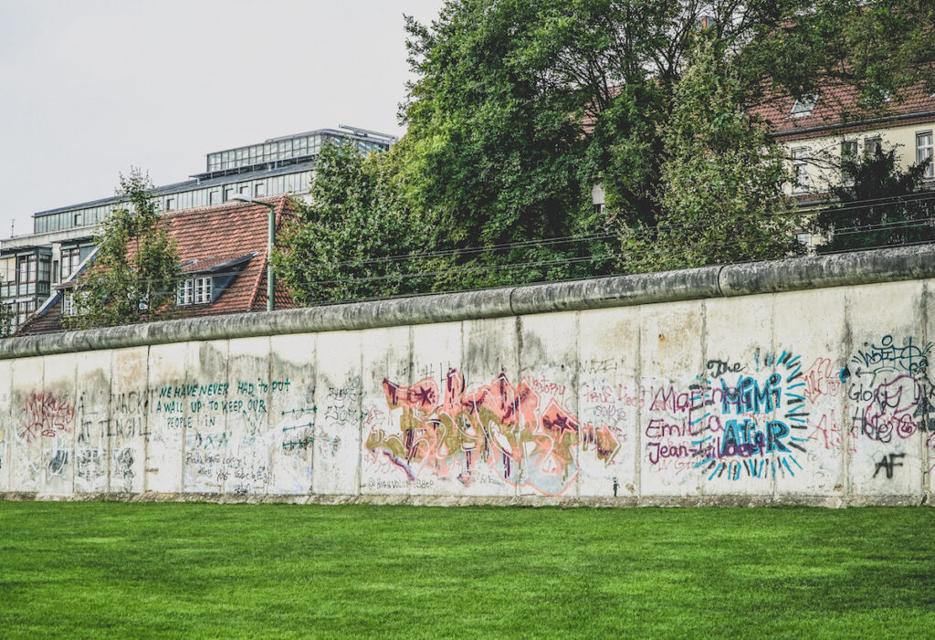 Berlin Wall Memorial.