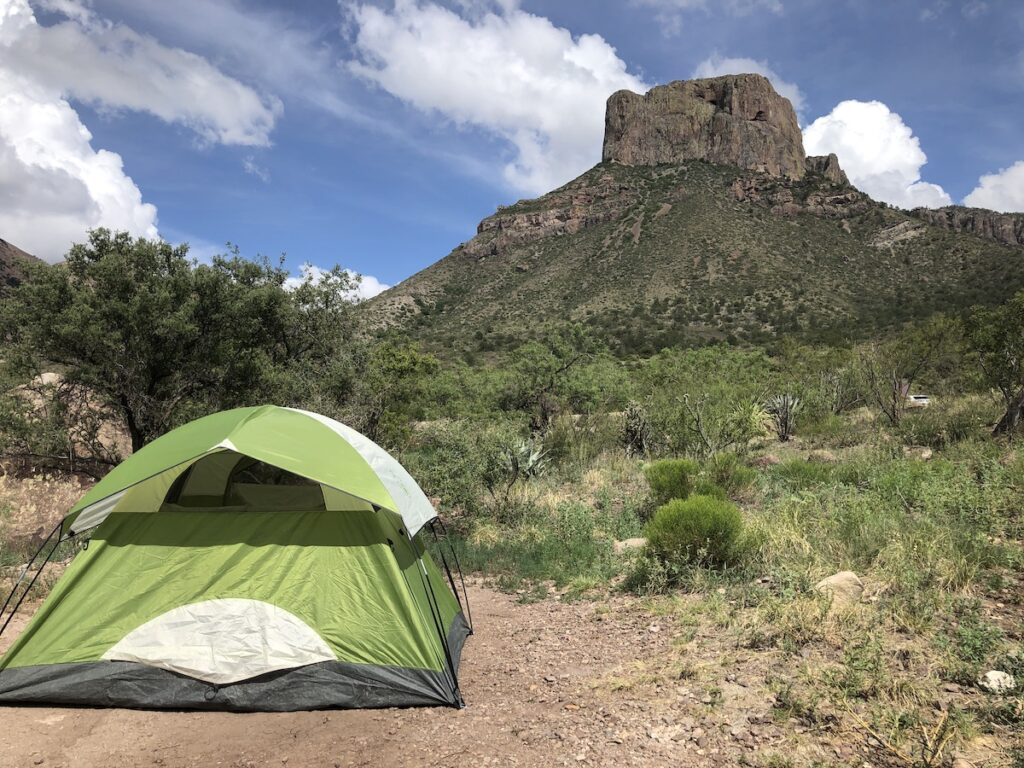 Big Bend, Chisos Mountains Campground.
