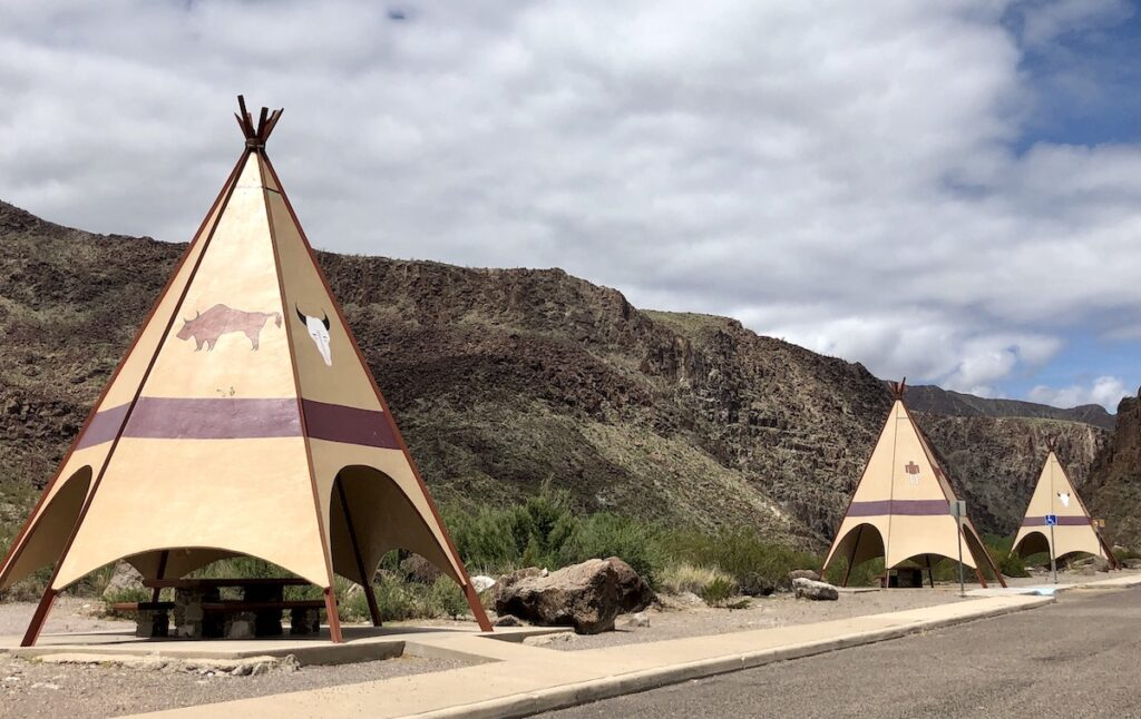 Big Bend Ranch State Park - River Road picnic area.