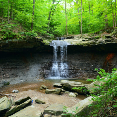 Blue Hen Falls; Cuyahoga Valley National Park