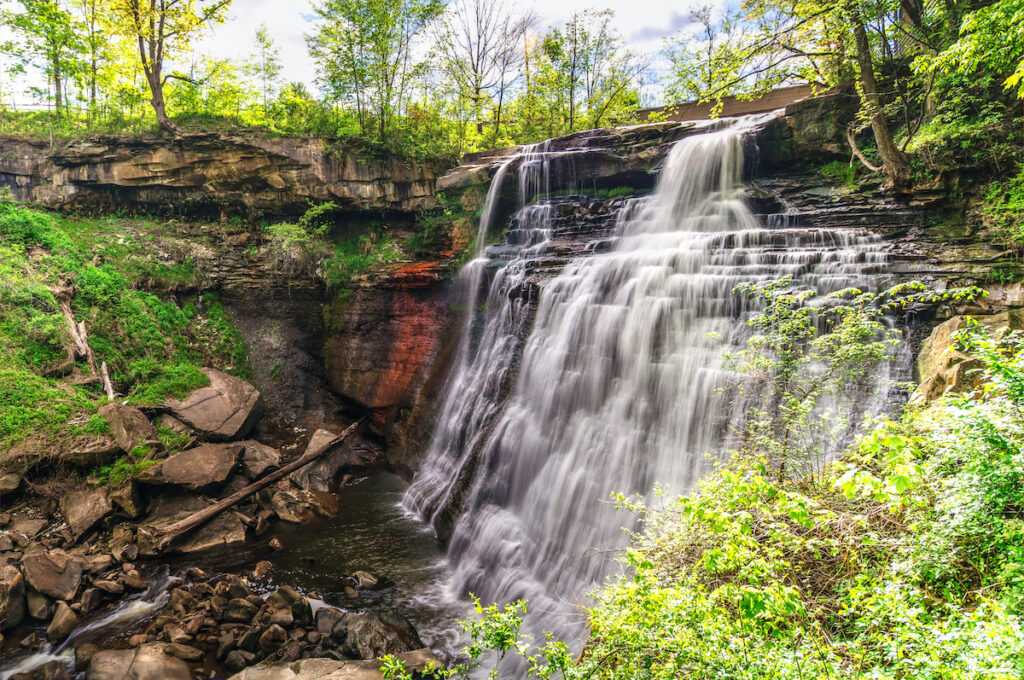 Brandywine Falls and Gorge Trail