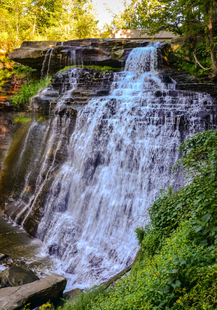 Falls of the veil of the bride;  Cuyahoga National Park