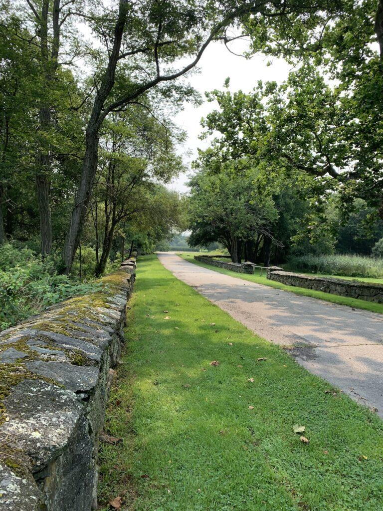 Path at Mount Hope Farm.