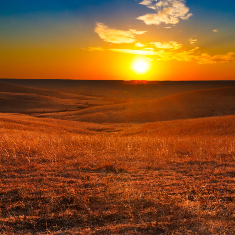 Flint Hills of Kansas.