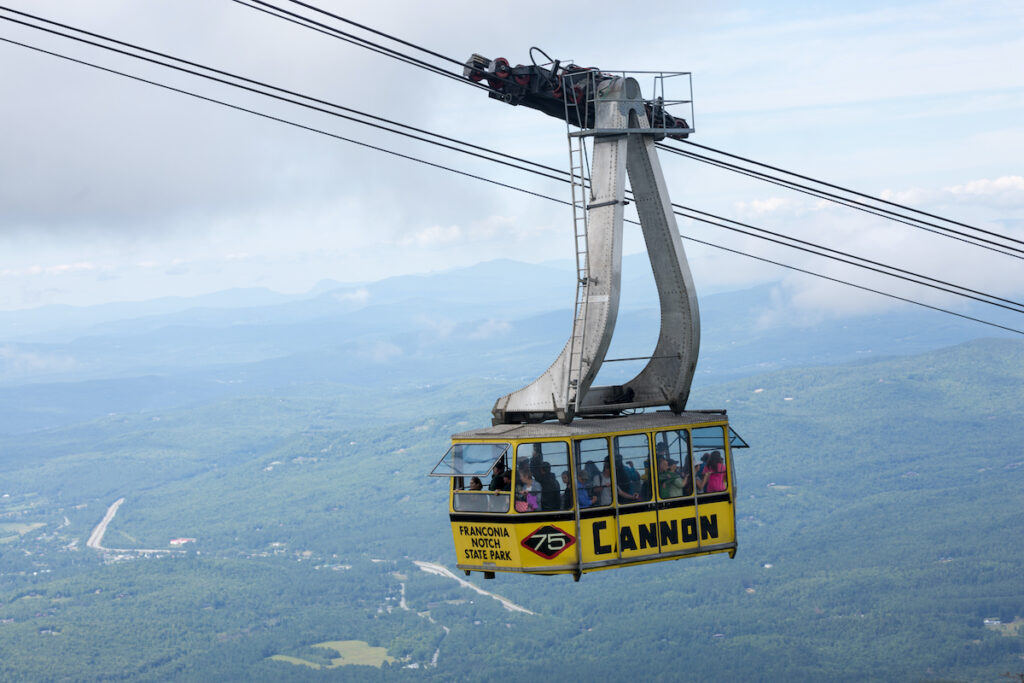 Cannon Mountain Aerial Tram; New Hampshire