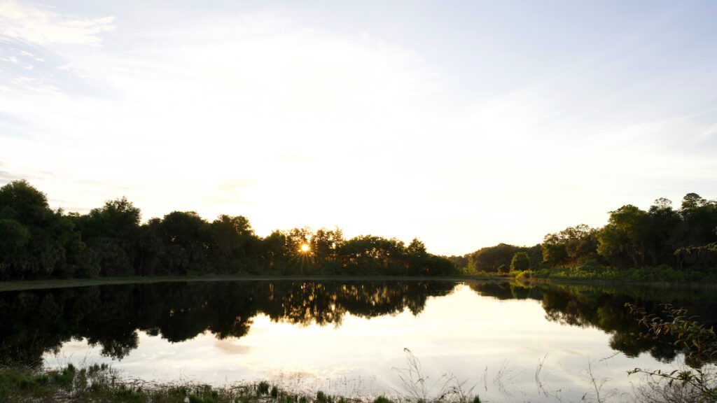 Spirit Pond in Cassadaga Florida