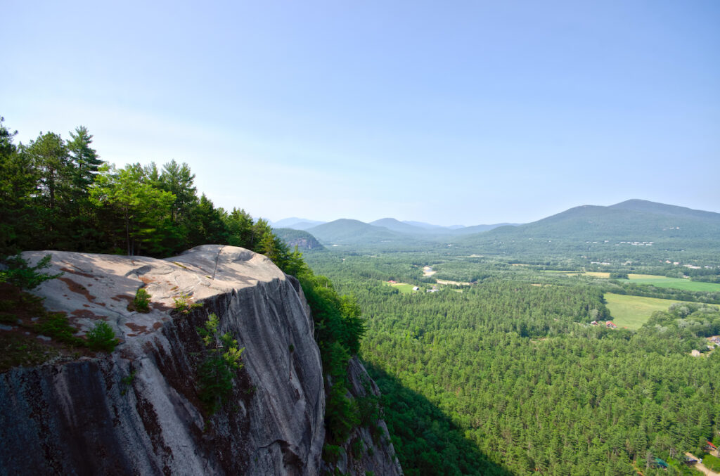 Cathedral Ledge; New Hampshire
