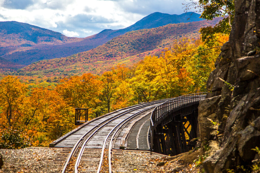 Conway Scenic Railroad; Conway, New Hampshire