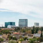Costa Mesa, California skyline