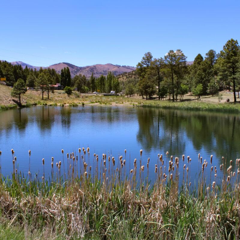 Alto Lake near Ruidoso, NM
