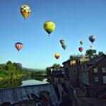 Quechee VT Hot Air Balloon Festival