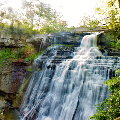 Brandywine Falls, Cuyahoga Valley National Park, Ohio.