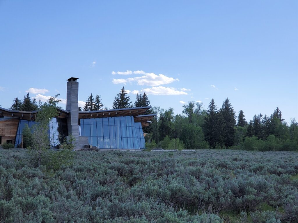 Craig Thomas Discovery and Visitor Center in Moose, Wyoming