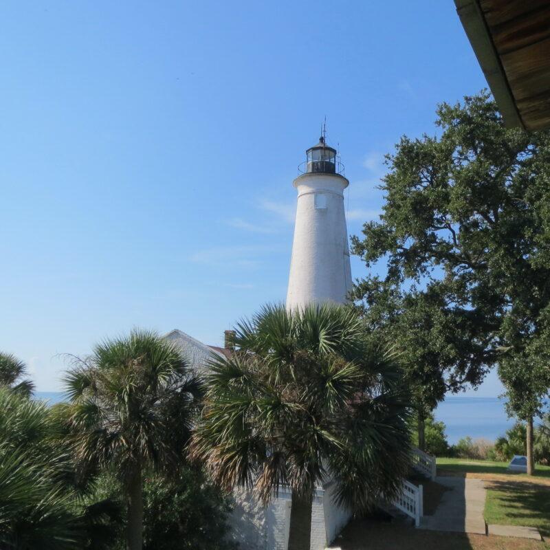 St. Marks Lighthouse in Crawfordville, Florida.
