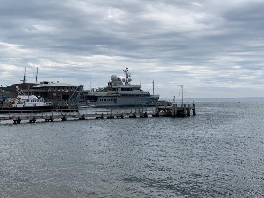 Woods Hole Marine, Falmouth, Massachusetts.