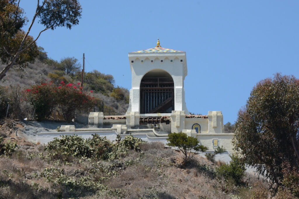 Chimes Tower in Catalina Island.