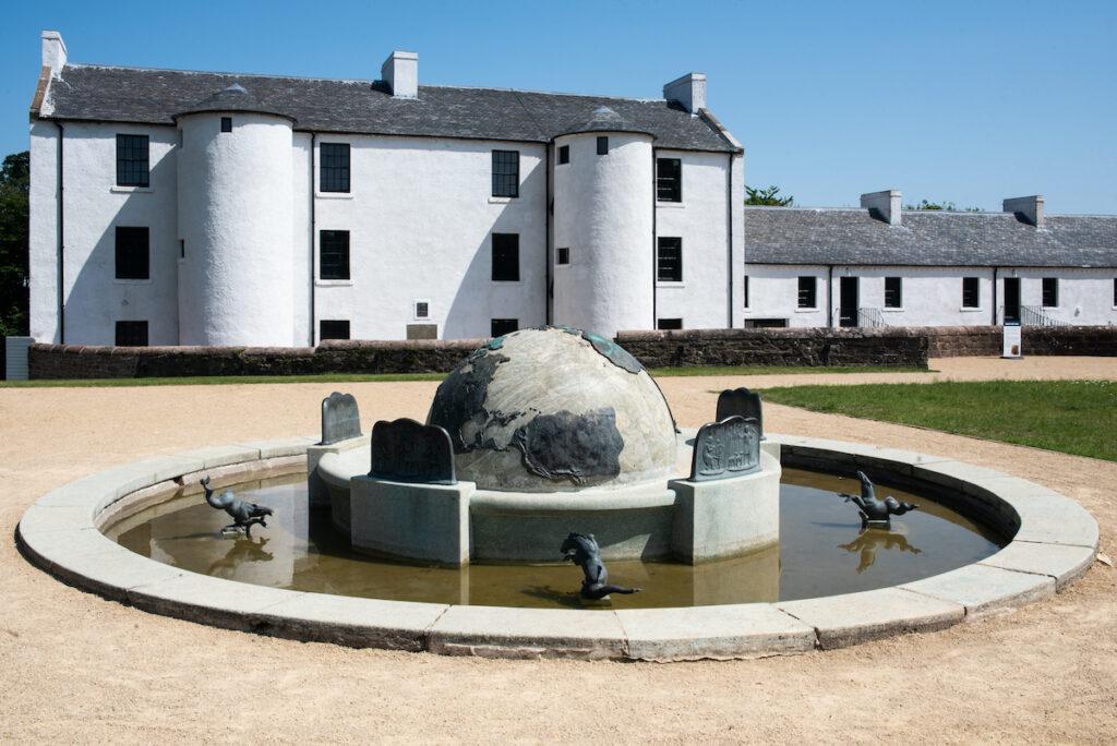David Livingstone's Birthplace, Blantyre, Scotland.