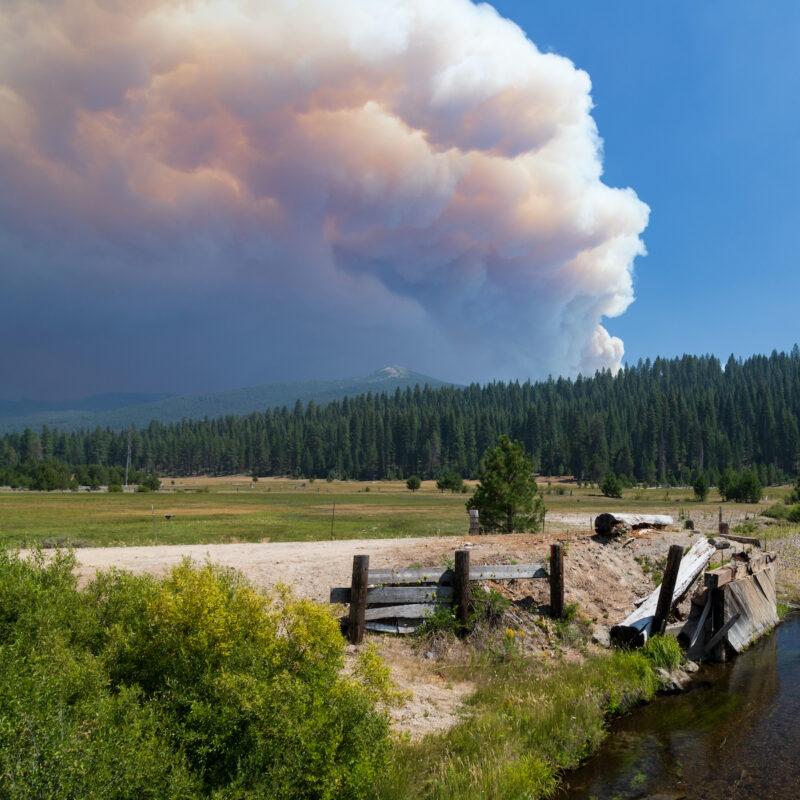 Dixie Fire, Plumas County, California