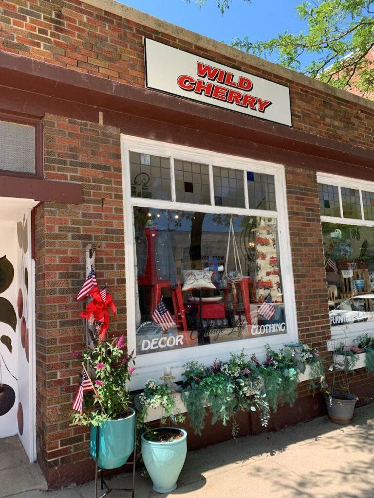 Wild Cherry Cottage Life in Sturgeon Bay, Door County, Wisconsin.