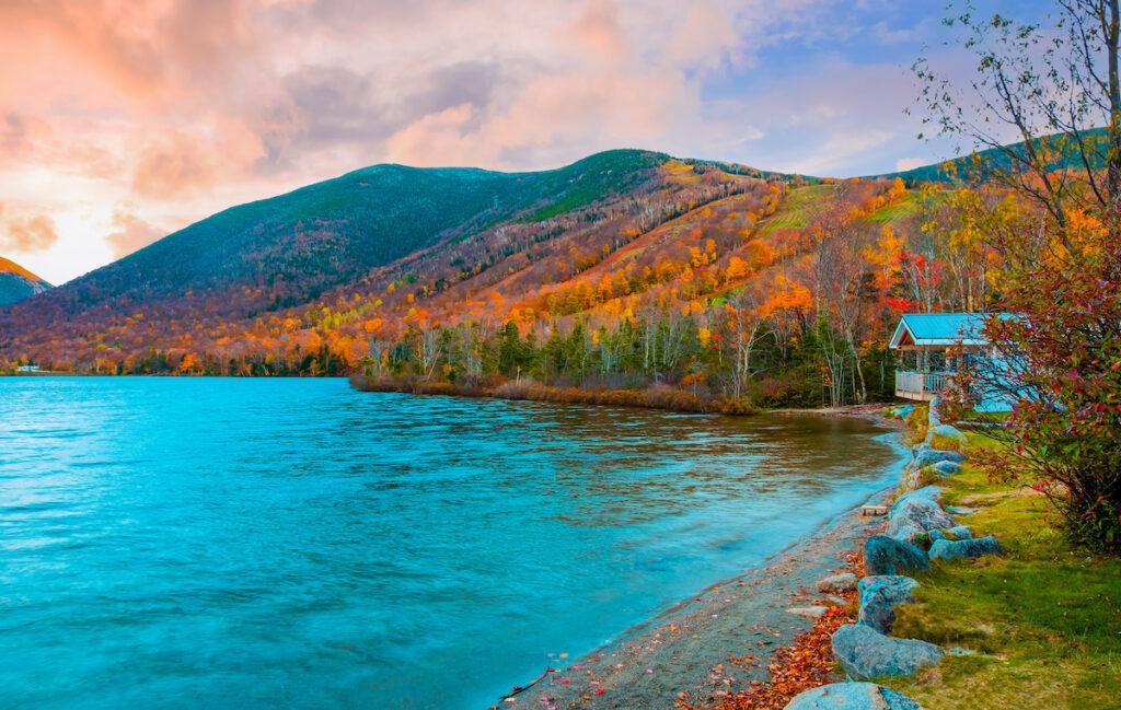 Echo Lake; New Hampshire
