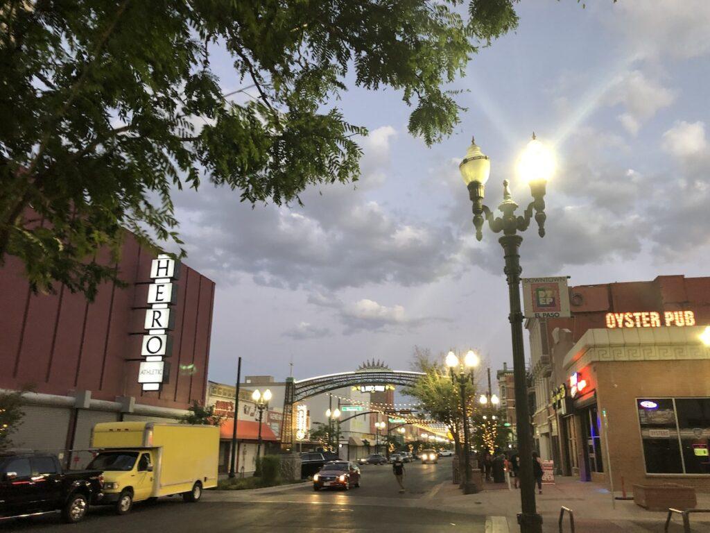 Downtown El Paso.
