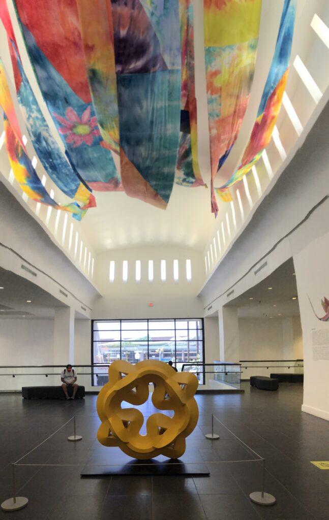 El Paso Museum of Art Beyond the Blue Door artwork.