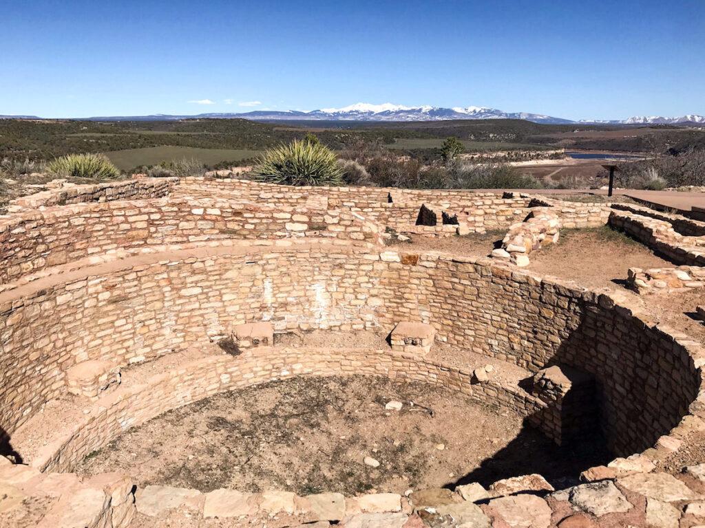 Escalante Pueblo Ruins in Canyons of the Ancients.